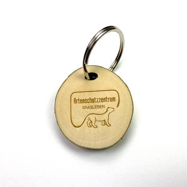 Schlüsselanhänger vom Artenschutzzentrum Grasleben