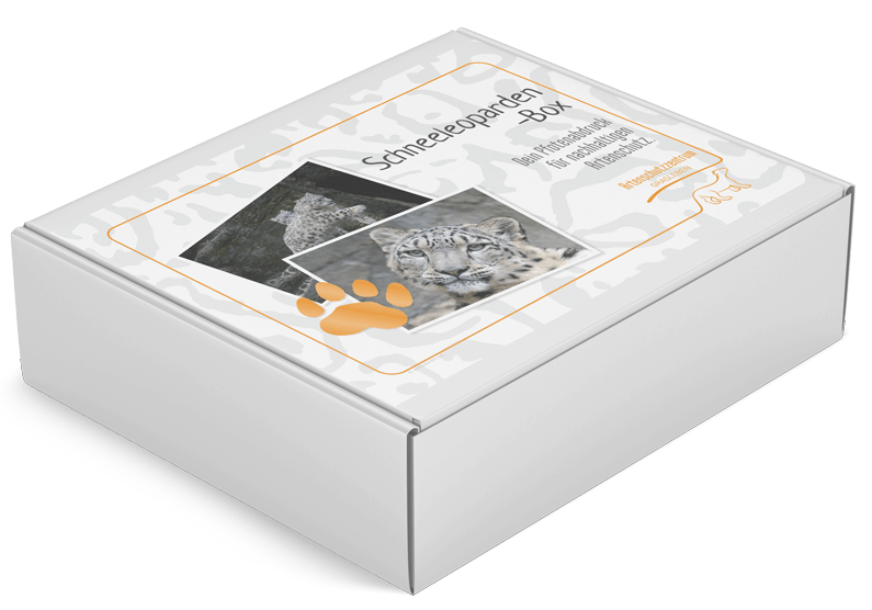 Schneeleopardenbox des Artenschutzzentrum Grasleben