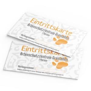 Eintrittskarten für das Artenschutzzentrum Grasleben